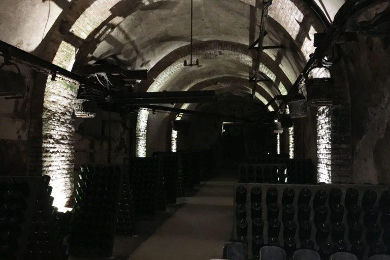Dunkels Flaschengewölbe