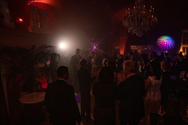 Partystimmung am Abend im großen Saal